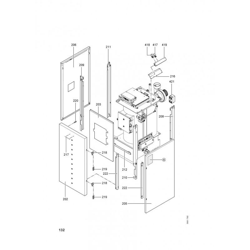 pi ce d tach e viessmann grundkessel vitoligno 300 p vl3b 40kw n 7. Black Bedroom Furniture Sets. Home Design Ideas