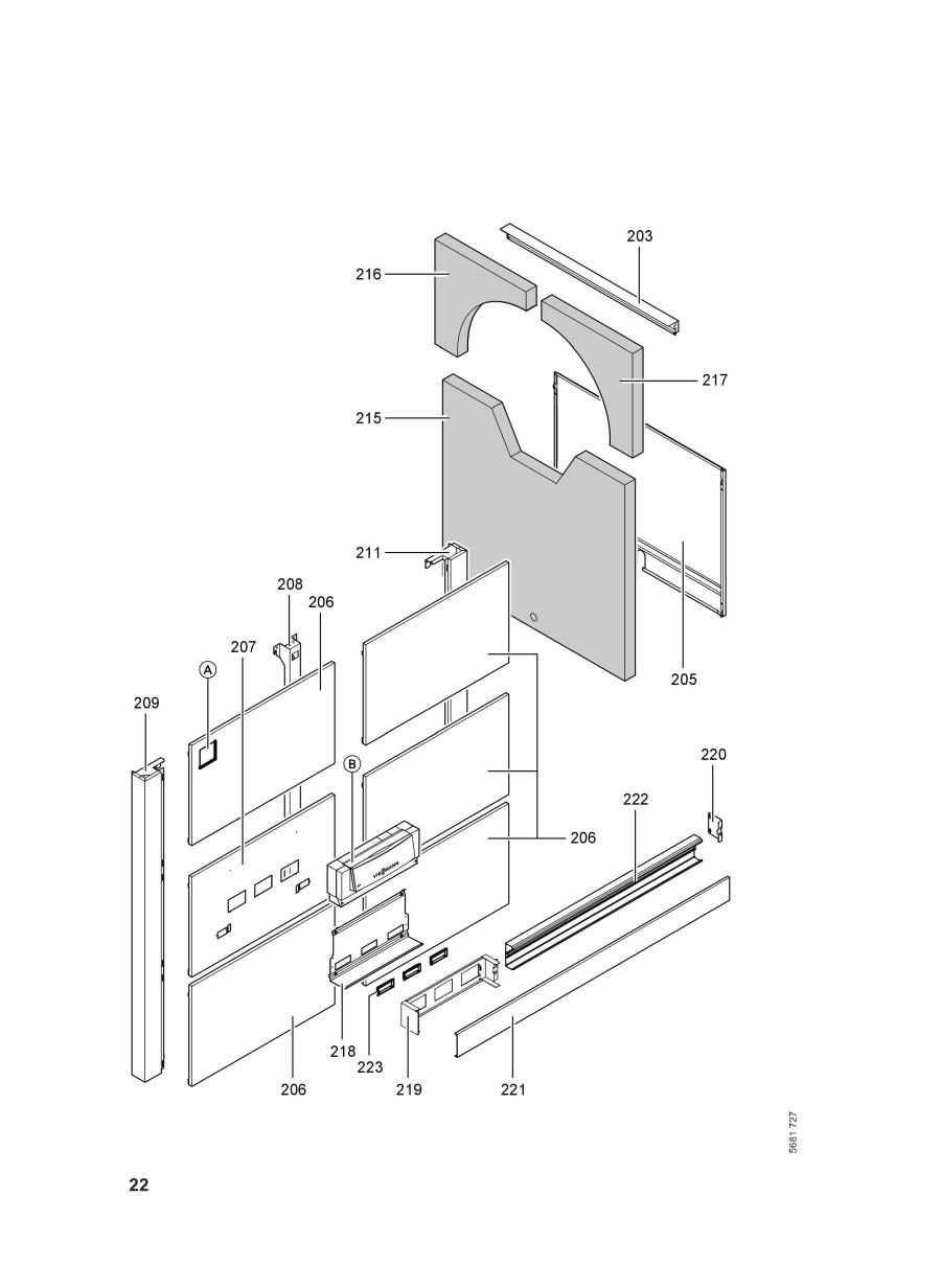 pi ce d tach e viessmann kessel vitoplex 200 sx2 700kw cn. Black Bedroom Furniture Sets. Home Design Ideas