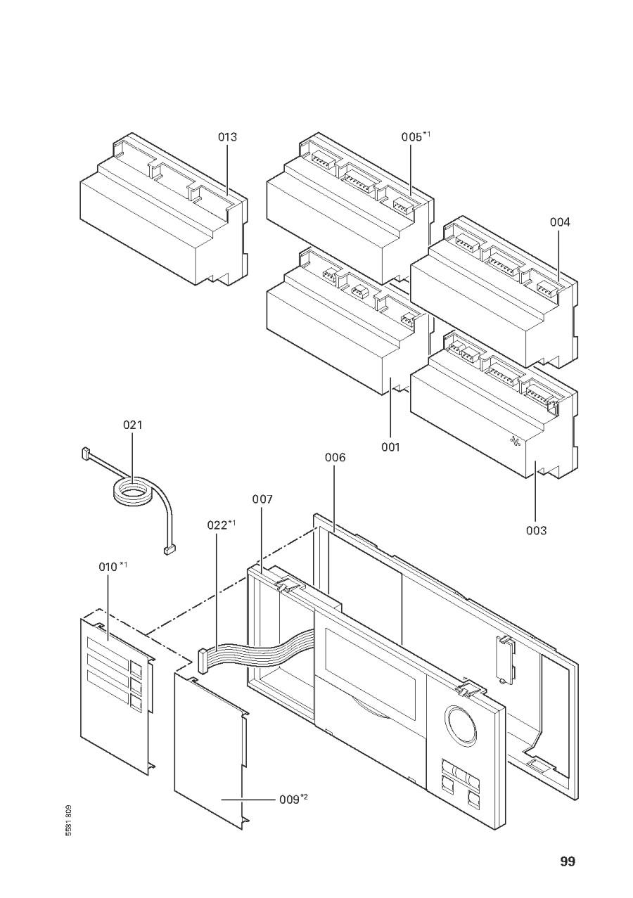pi ce d tach e viessmann vitotronic 200 h hk1s n 7248230. Black Bedroom Furniture Sets. Home Design Ideas