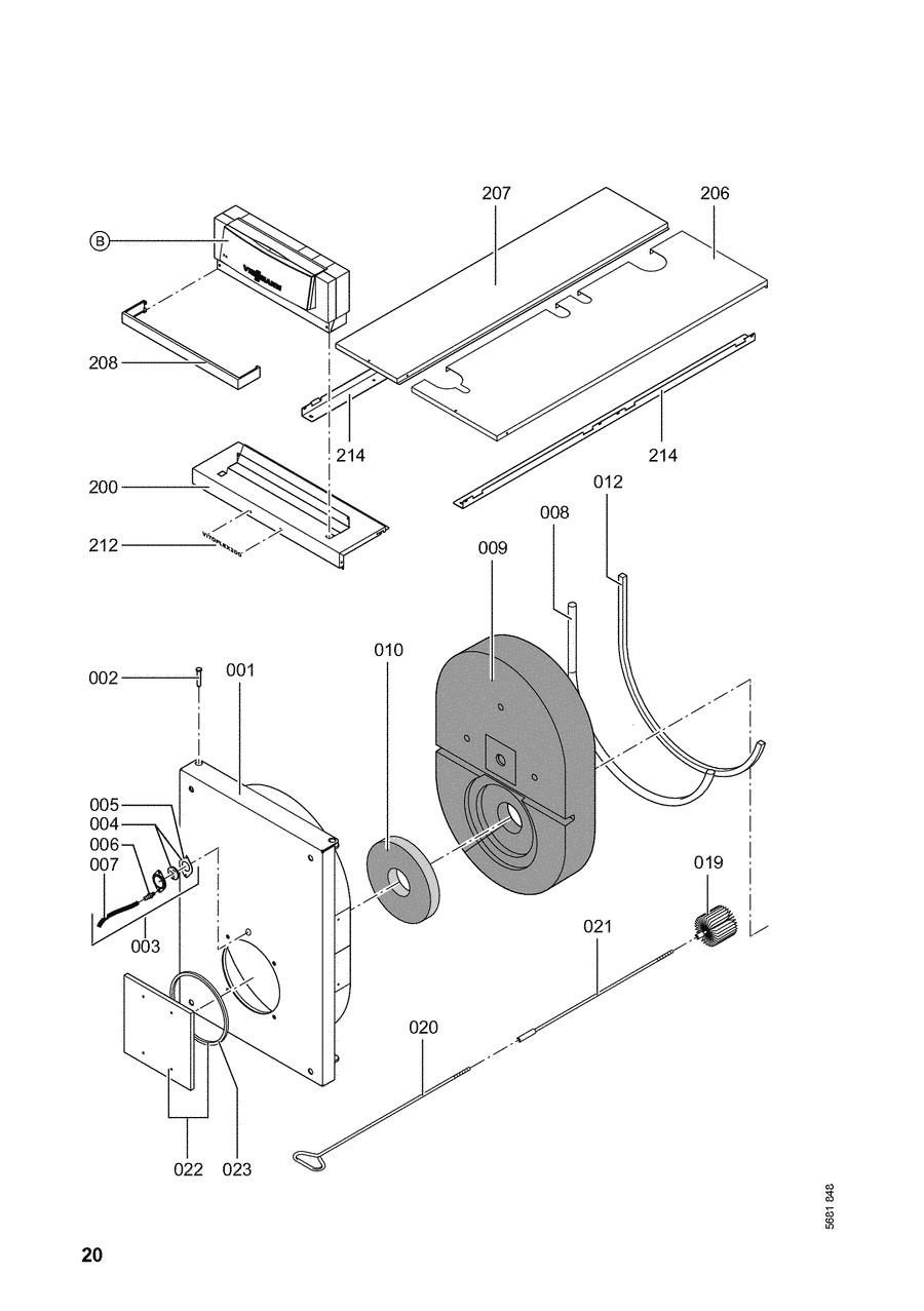 pi ce d tach e viessmann chaudi re vitoplex 200 sx2a 120kw. Black Bedroom Furniture Sets. Home Design Ideas