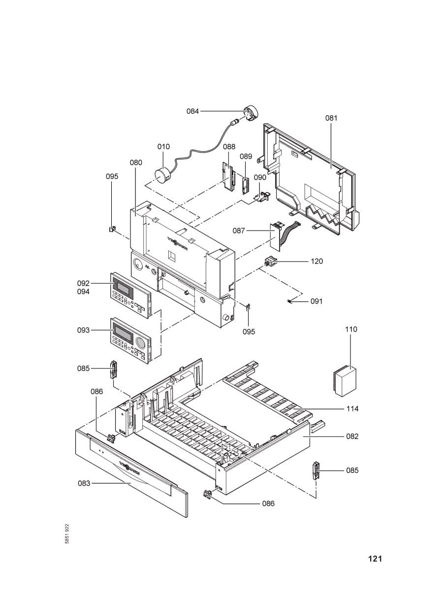 pi ce d tach e viessmann chaudi re whka combi ventouse 29kw be n 7. Black Bedroom Furniture Sets. Home Design Ideas