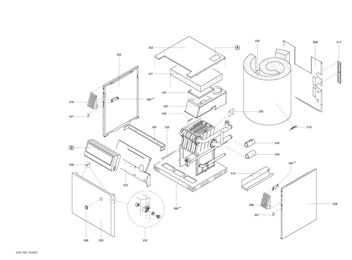 pi ce d tach e viessmann corps chaudi re gaz propane lvr15 n 7520075. Black Bedroom Furniture Sets. Home Design Ideas