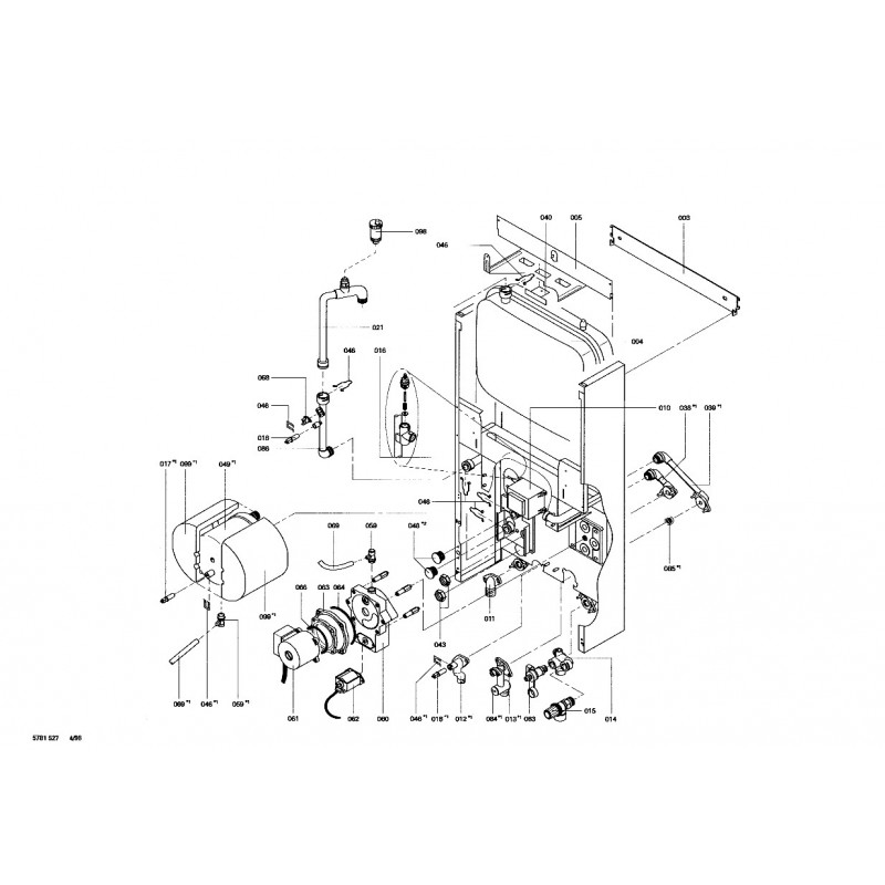 corps chaudi re gaz propane puk24 viessmann express. Black Bedroom Furniture Sets. Home Design Ideas