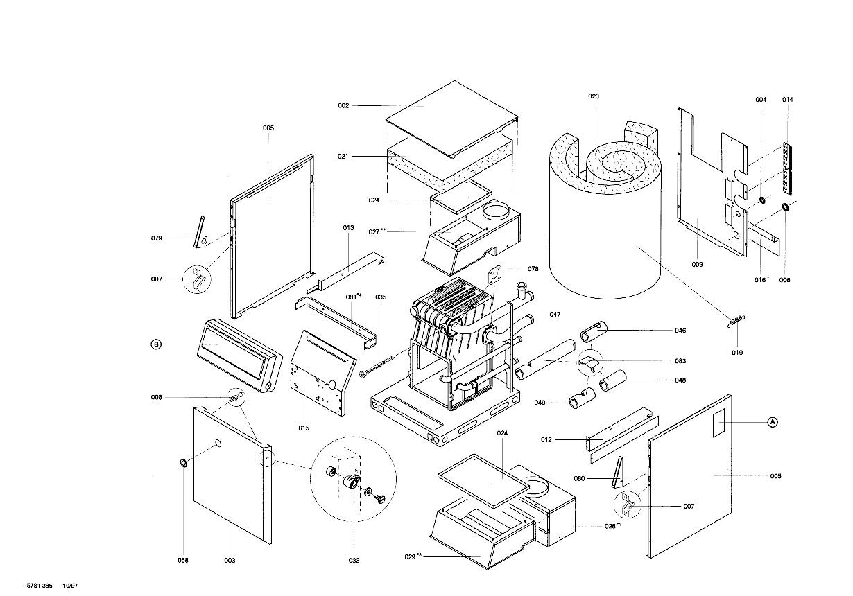 pi ce d tach e viessmann corps chaudiere lvb34 bel n 7520039. Black Bedroom Furniture Sets. Home Design Ideas