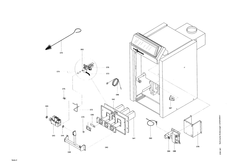 pi ce d tach e viessmann corps de chaudiere arn32 n 7518283. Black Bedroom Furniture Sets. Home Design Ideas