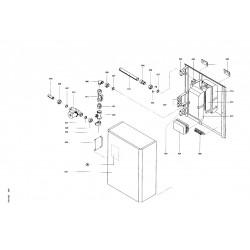 pi ce d tach e viessmann echangeur de chaleur 80 kw pour n 7219917. Black Bedroom Furniture Sets. Home Design Ideas